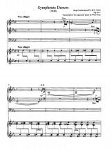 3 Symphonic Dances Op. 45:1 S. Rachmaninoff